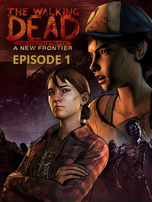 Omslag för The Walking Dead: A New Frontier – Episode 1: The Ties That Bind