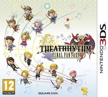 Omslag för Theatrhythm Final Fantasy