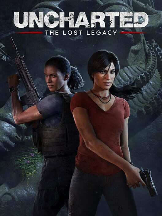 Omslag för Uncharted: The Lost Legacy