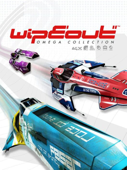 Omslag för Wipeout Omega Collection