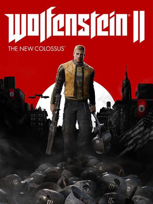 Omslag för Wolfenstein II: The New Colossus