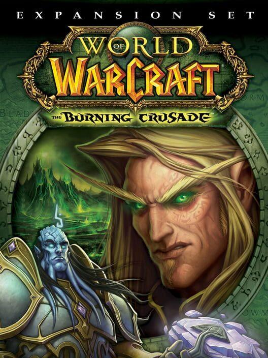 Omslag för World Of Warcraft: The Burning Crusade