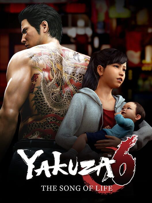 Omslag för Yakuza 6: The Song Of Life