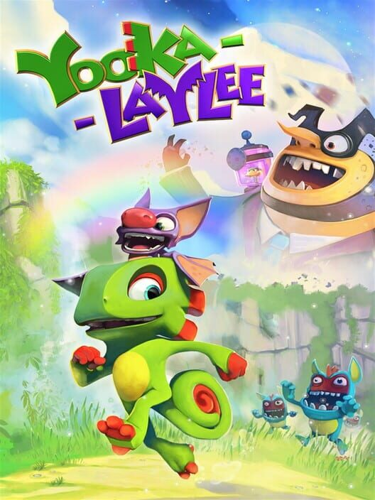 Omslag för Yooka-Laylee