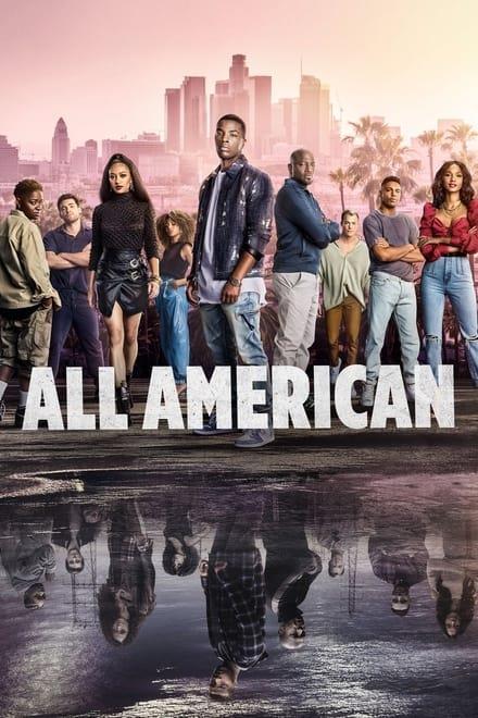 Affisch för All American
