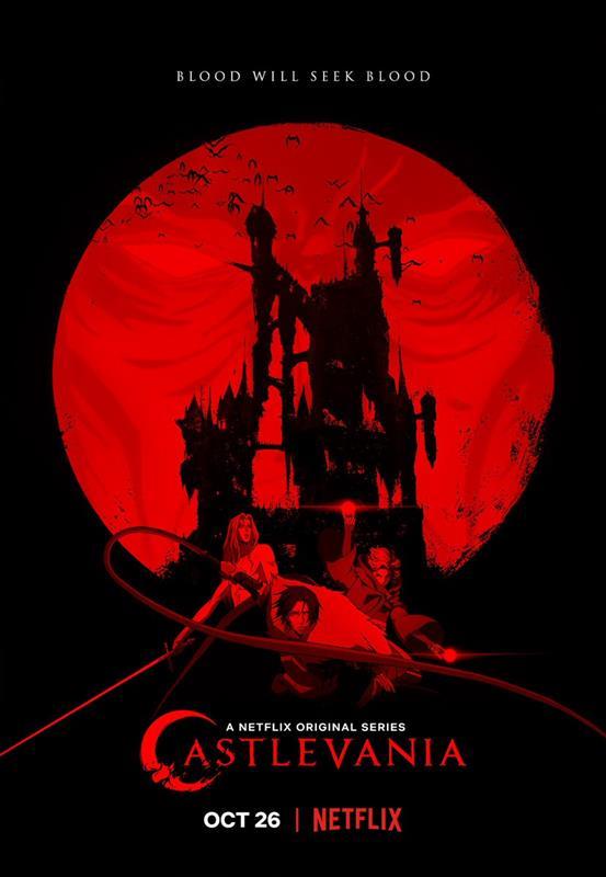 Affisch för Castlevania: Säsong 2