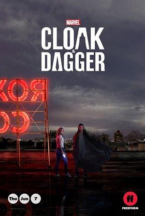 Affisch för Cloak & Dagger