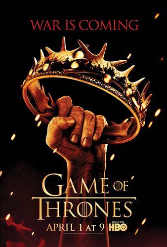 Affisch för Game Of Thrones: Säsong 2