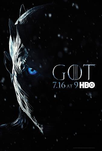 Affisch för Game Of Thrones: Säsong 7
