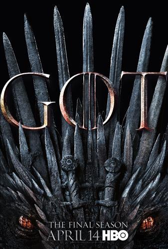 Affisch för Game Of Thrones: Säsong 8