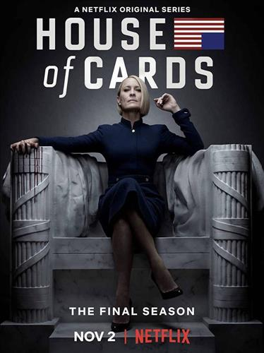Affisch för House Of Cards: Säsong 6