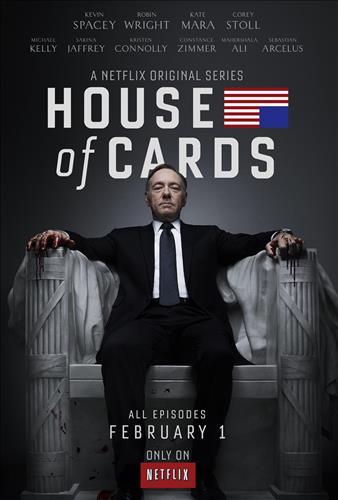 Affisch för House Of Cards: Säsong 1