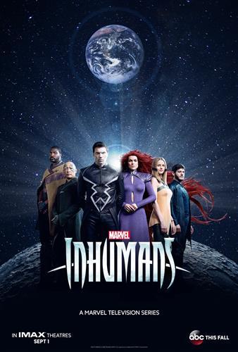 Affisch för Inhumans