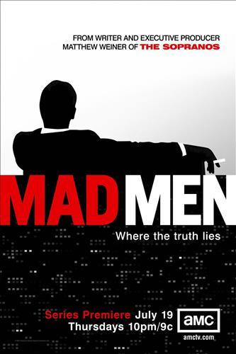 Affisch för Mad Men: Säsong 1