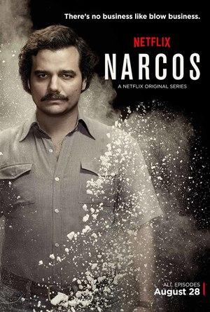 Affisch för Narcos: Säsong 1