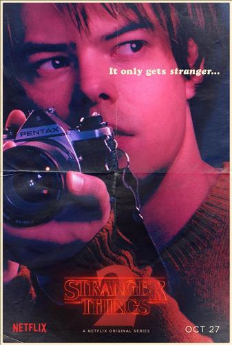 Affisch för Stranger Things: Säsong 2