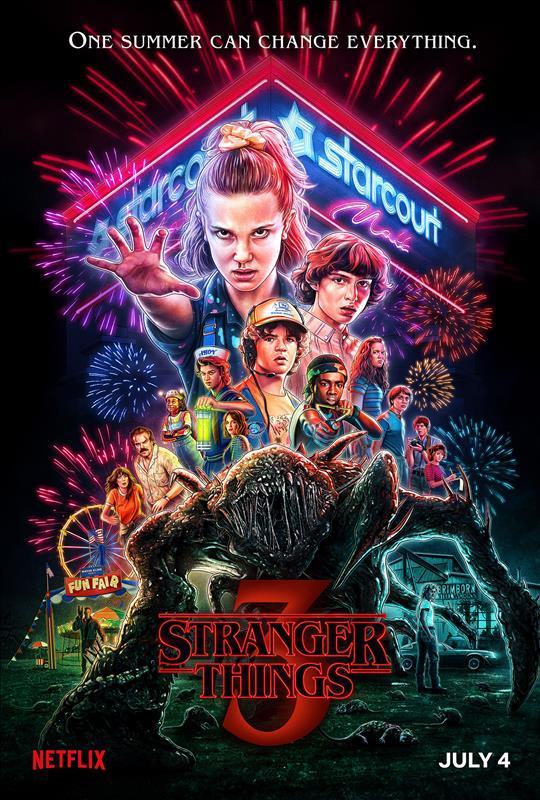 Affisch för Stranger Things: Säsong 3
