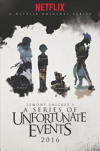 Affisch för Syskonen Baudelaires Olycksaliga Liv