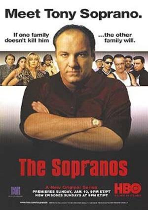 Affisch för The Sopranos: Säsong 1