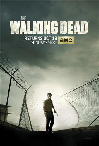 Affisch för The Walking Dead: Säsong 4